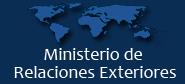 Ministerio de la Relaciones Exteriores